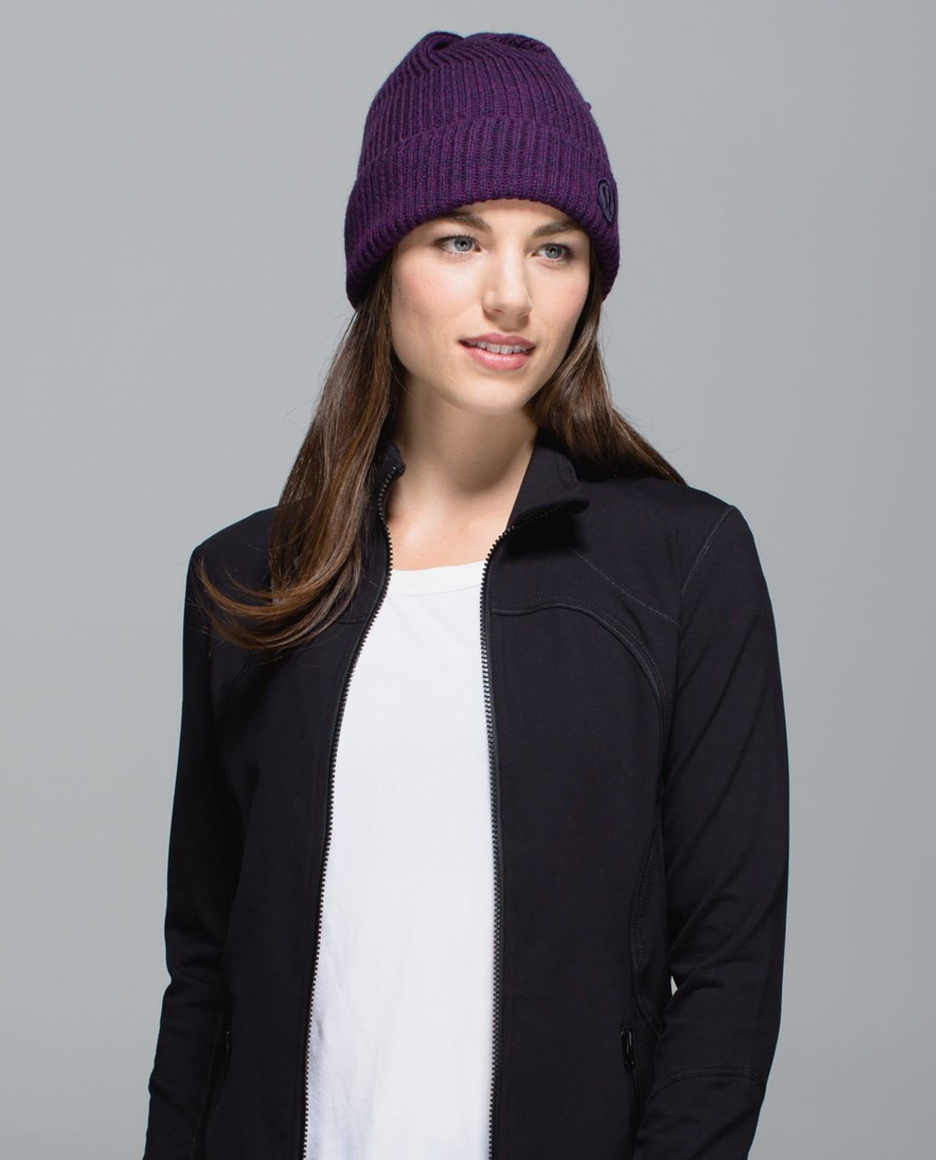 e0e79d88 Lululemon Twisted Bliss Toque - Berry Yum Yum / Black Grape - lulu ...