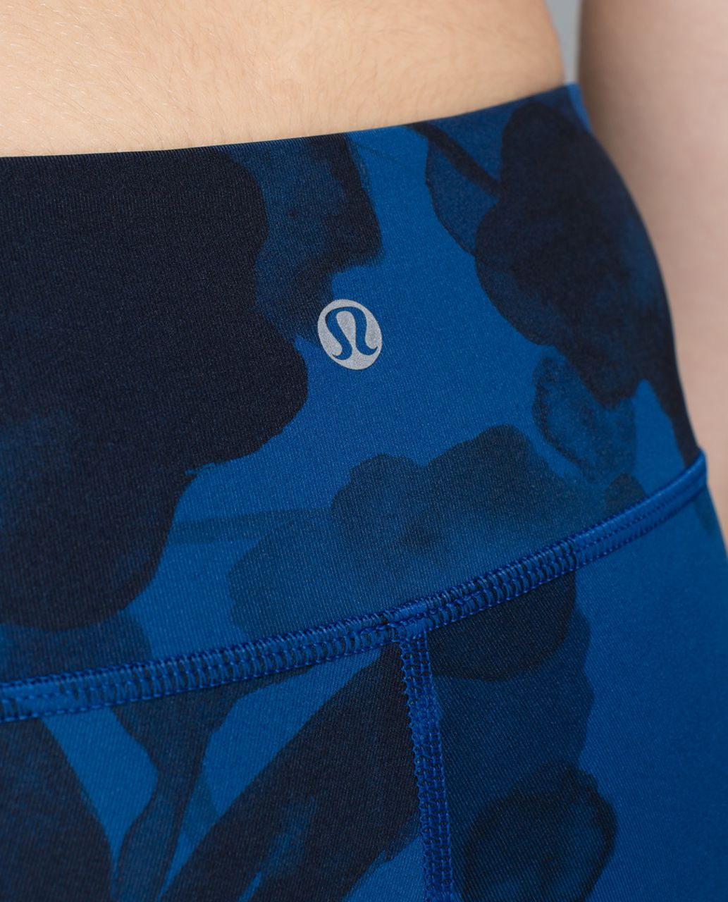 Lululemon Wunder Under Pant *Full-On Luxtreme - Jumbo Inky Floral Black Inkwell