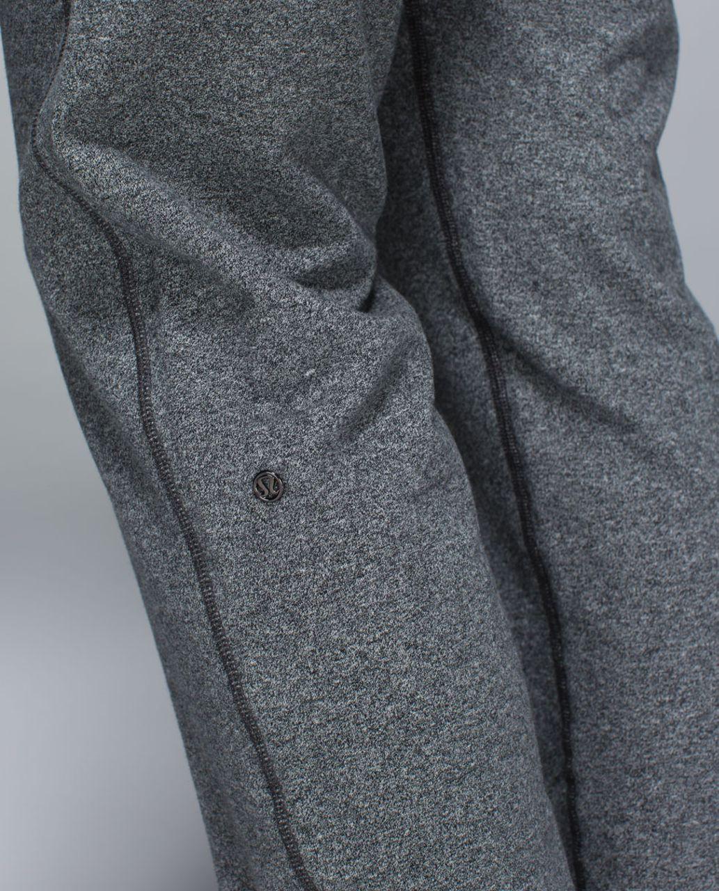 Lululemon Sattva Pant II - Heathered Speckled Black / Black