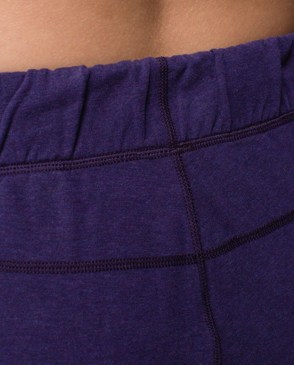 Lululemon Sattva Pant II - Heathered Black Grape / Black