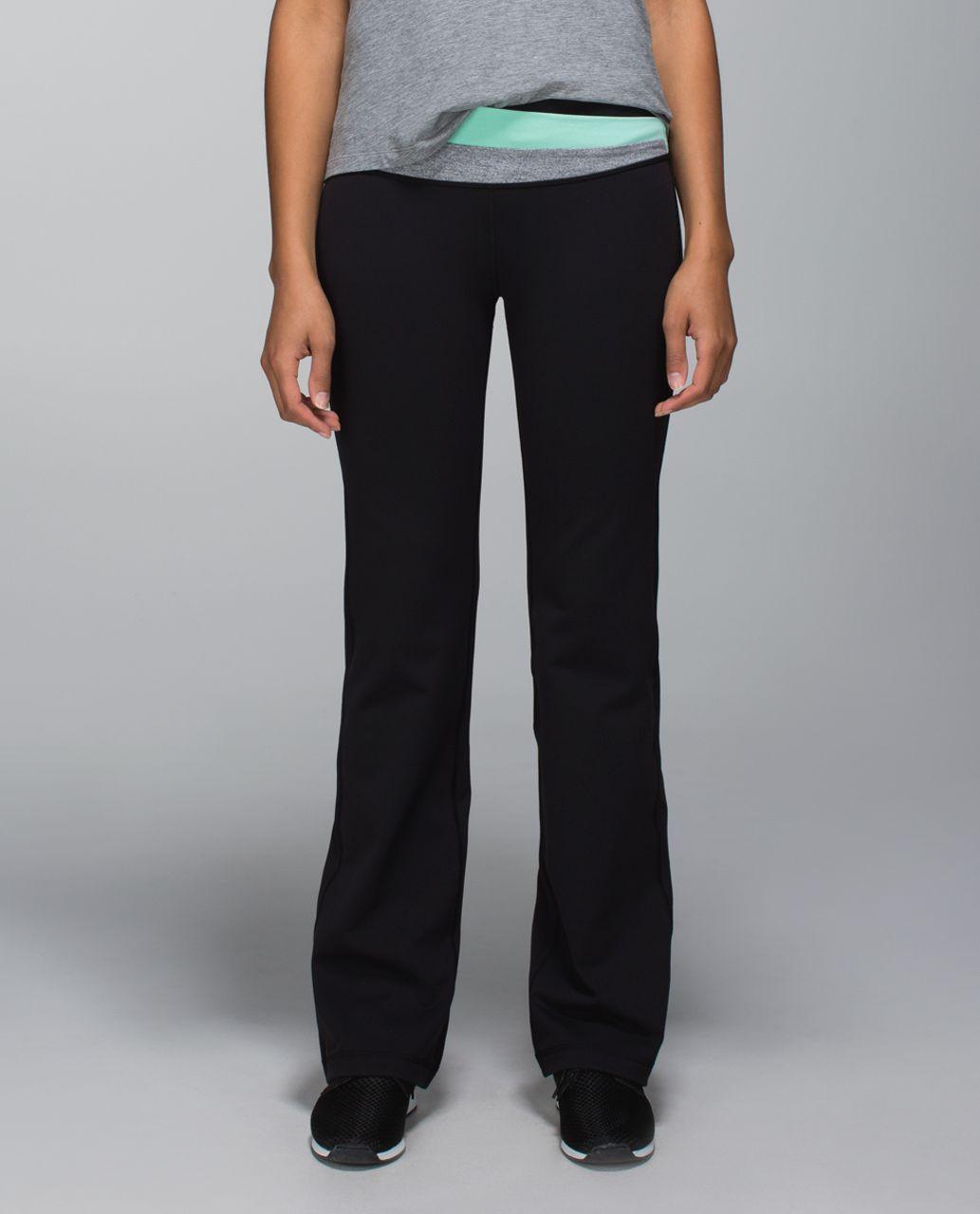 Lululemon Astro Pant *Full-On Luon (Regular) - Black / Toothpaste / Heathered Slate