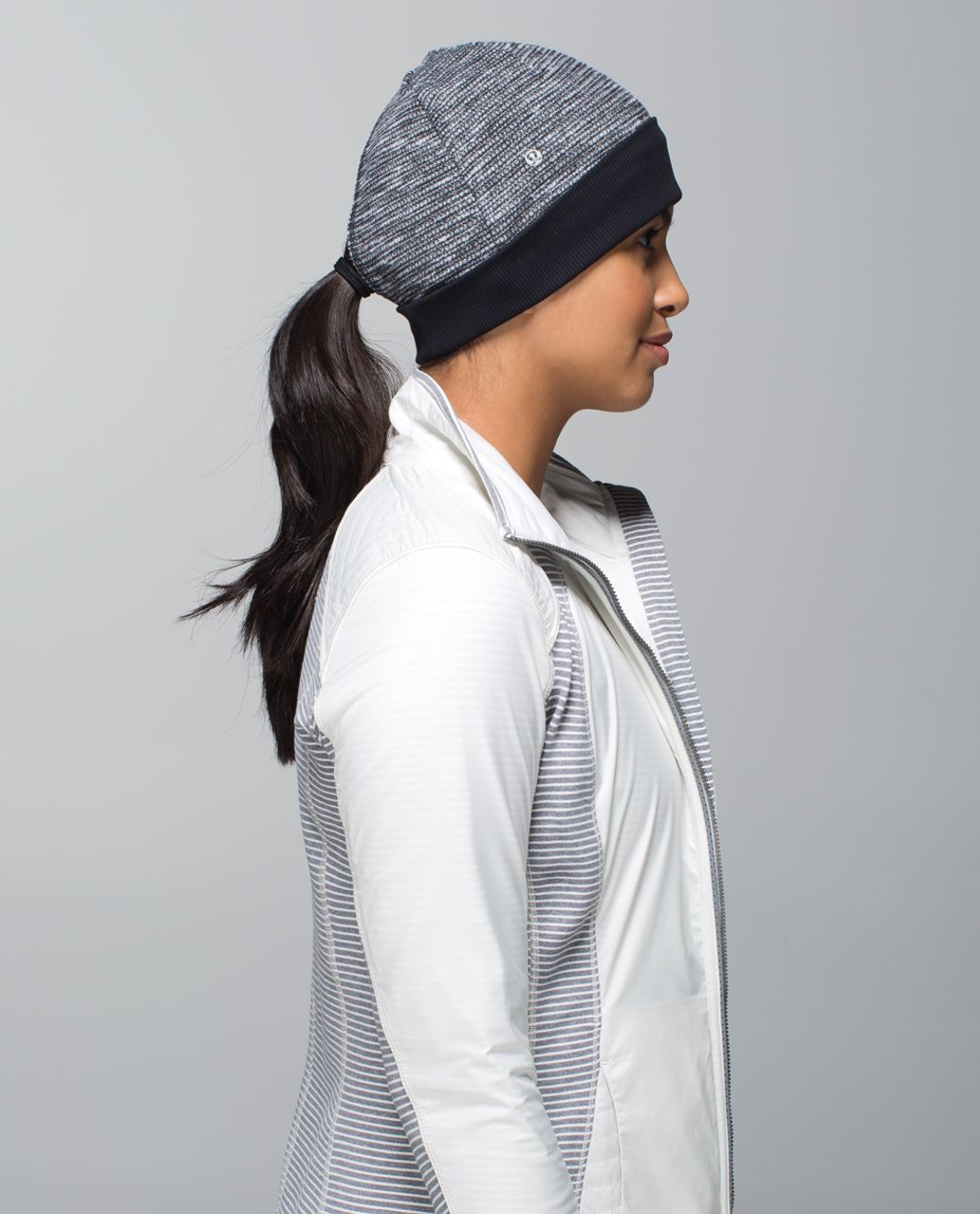 Lululemon Run With Me Toque - Heathered Black