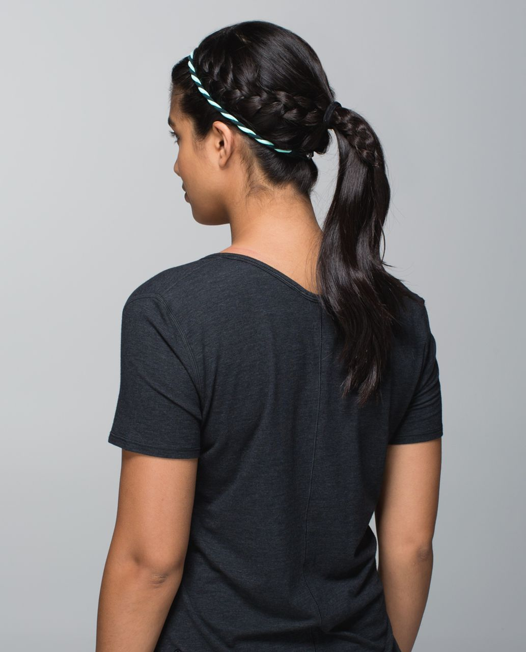 Lululemon Charming Twist Headband - Fuel Green / Toothpaste