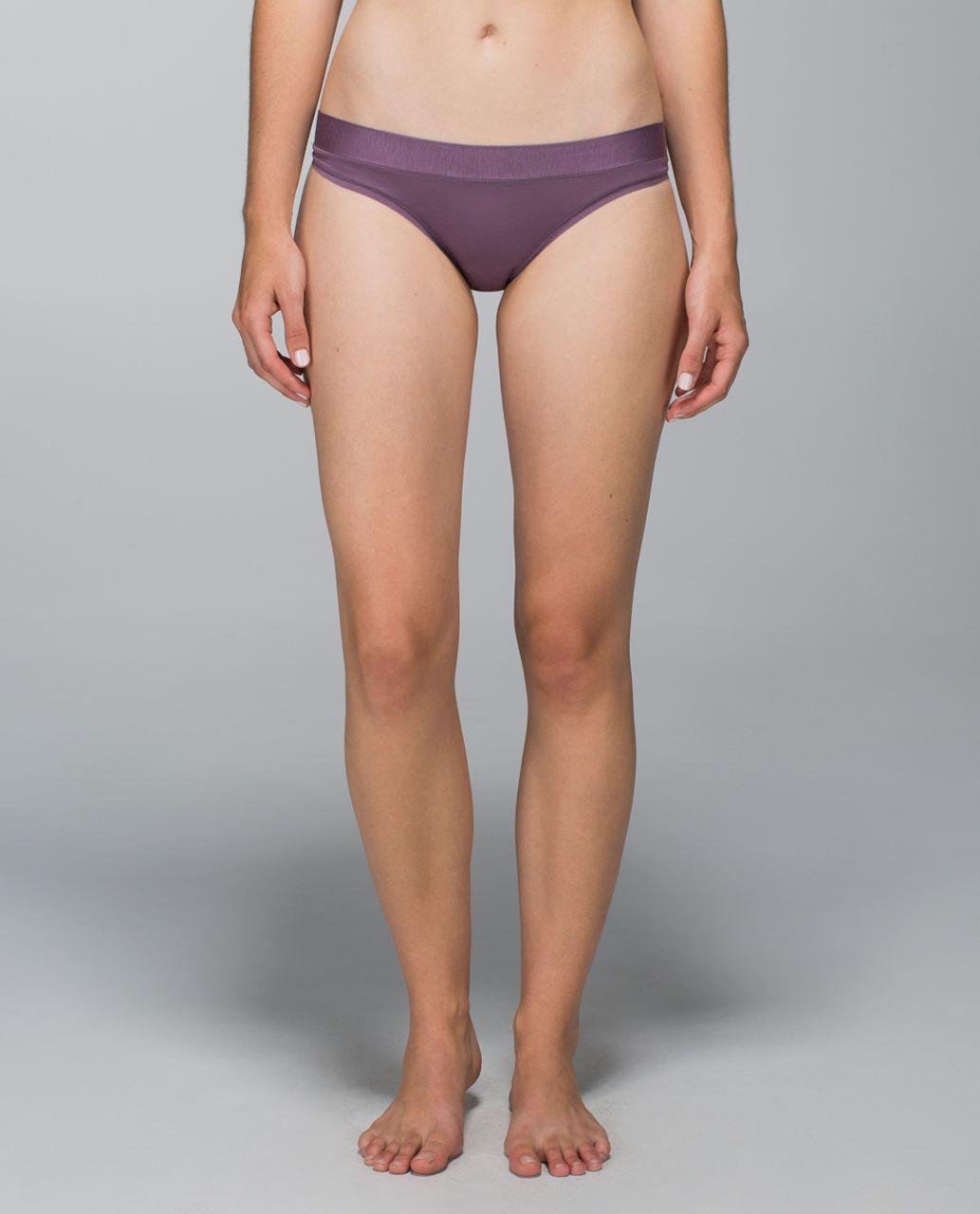 Lululemon Mula Bandhawear Thong - Purple Fog
