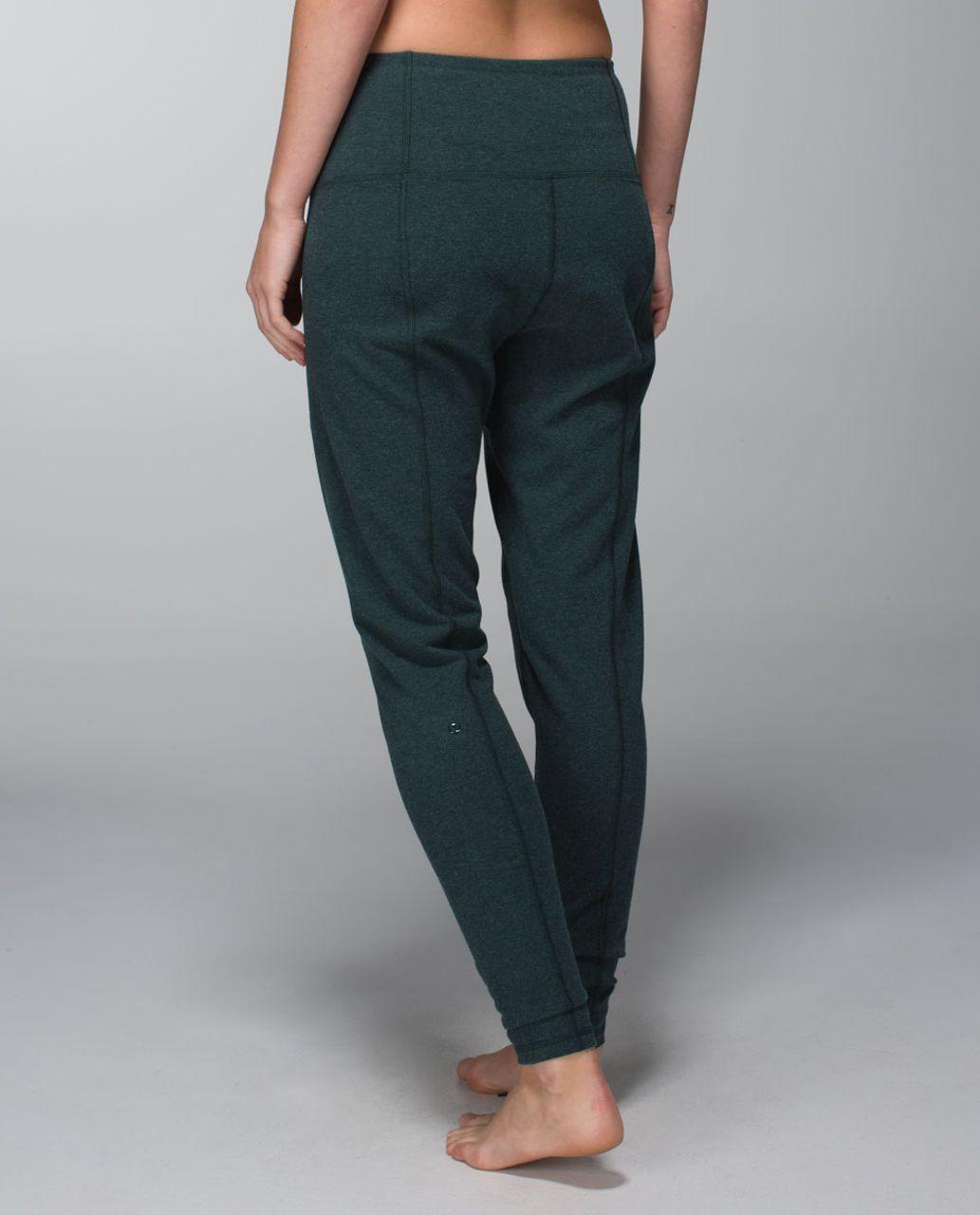 Lululemon Atman Pant - Heathered Fuel Green