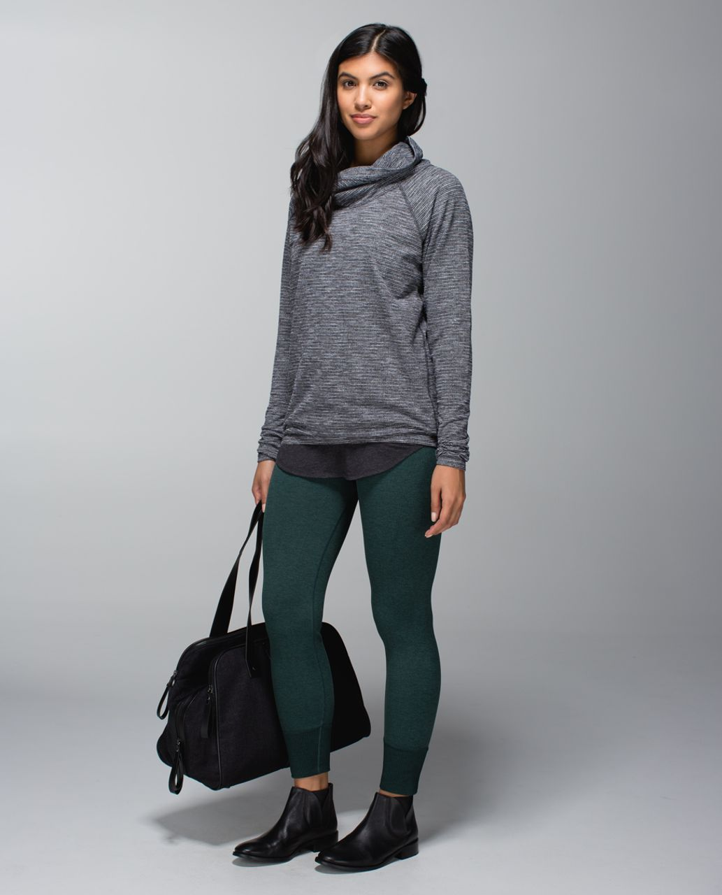 Lululemon Healthy Heart Pullover - Coco Pique Black