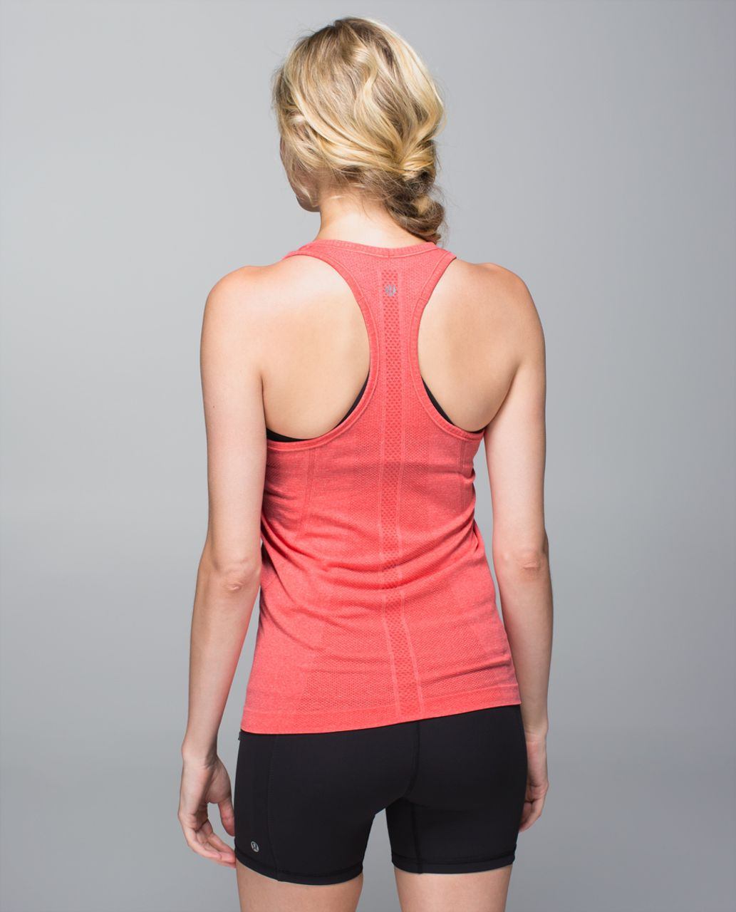 Lululemon Run:  Swiftly Tech Racerback - Heathered Rad Red