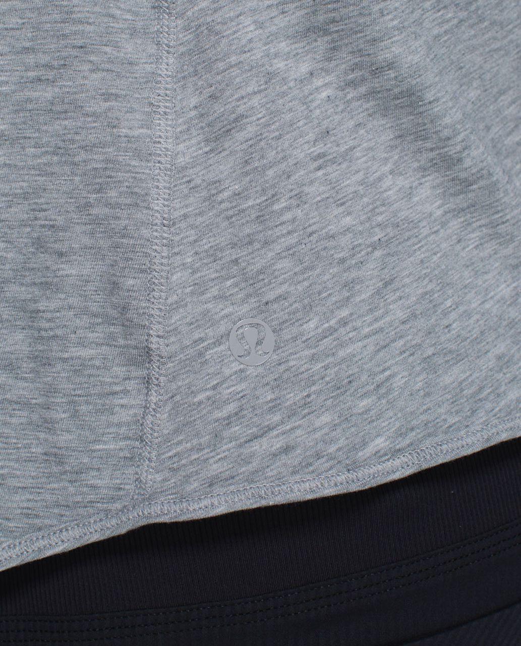 Lululemon Twist & Turn Tank - Heathered Medium Grey / Toothpaste