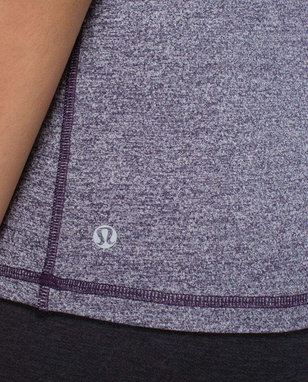 Lululemon Inspiration Tank - Heathered Black Grape / Going Grape