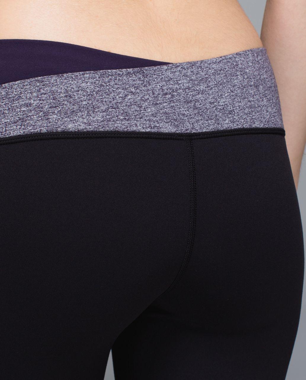 Lululemon Astro Pant *Full-On Luon (Tall) - Black / Heathered Black Grape / Going Grape