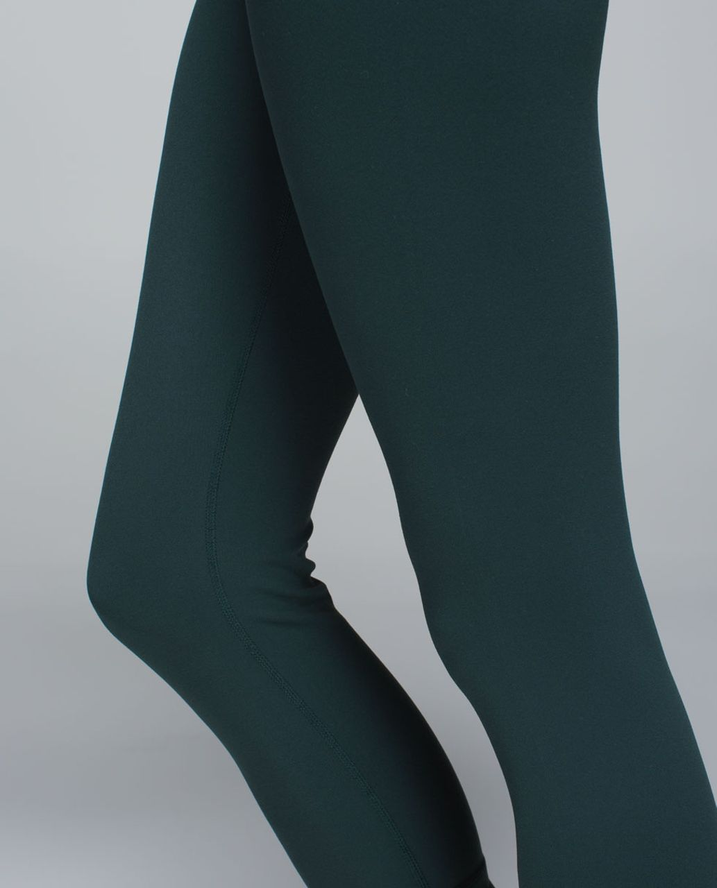 Lululemon Wunder Under Crop (Reversible) - Fuel Green / Black