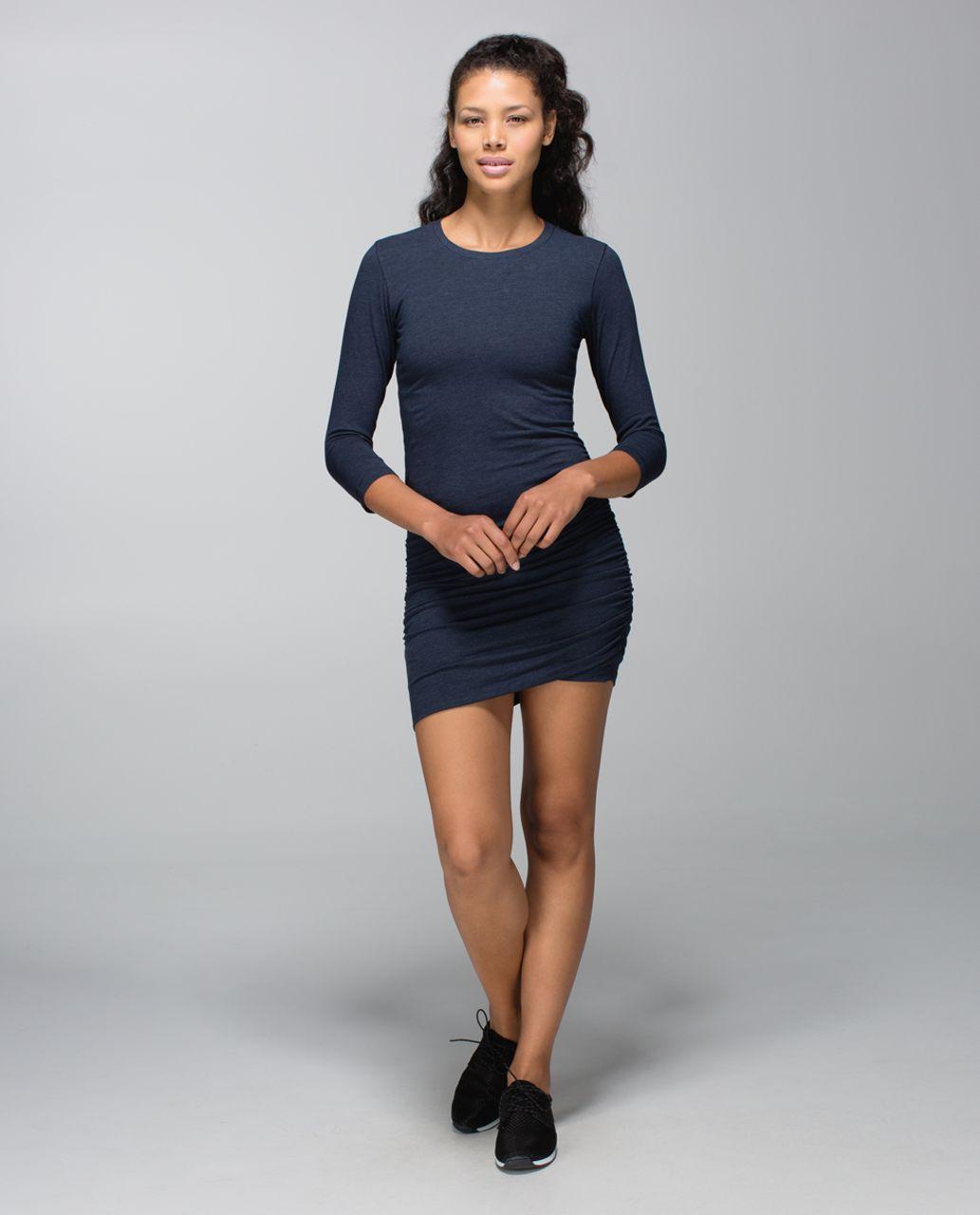 Lululemon Anytime Dress - Heathered Inkwell