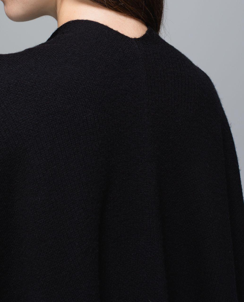 Lululemon Bundle Up Scarf - Black /  Heathered Black