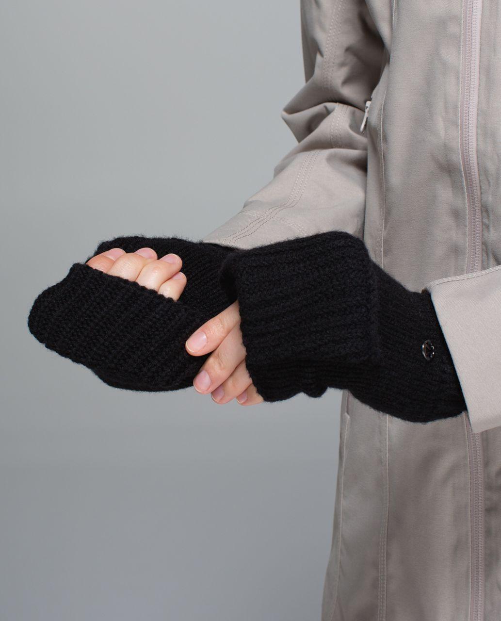 Lululemon Happy Yogi Hand Warmers - Heathered Black /  Black