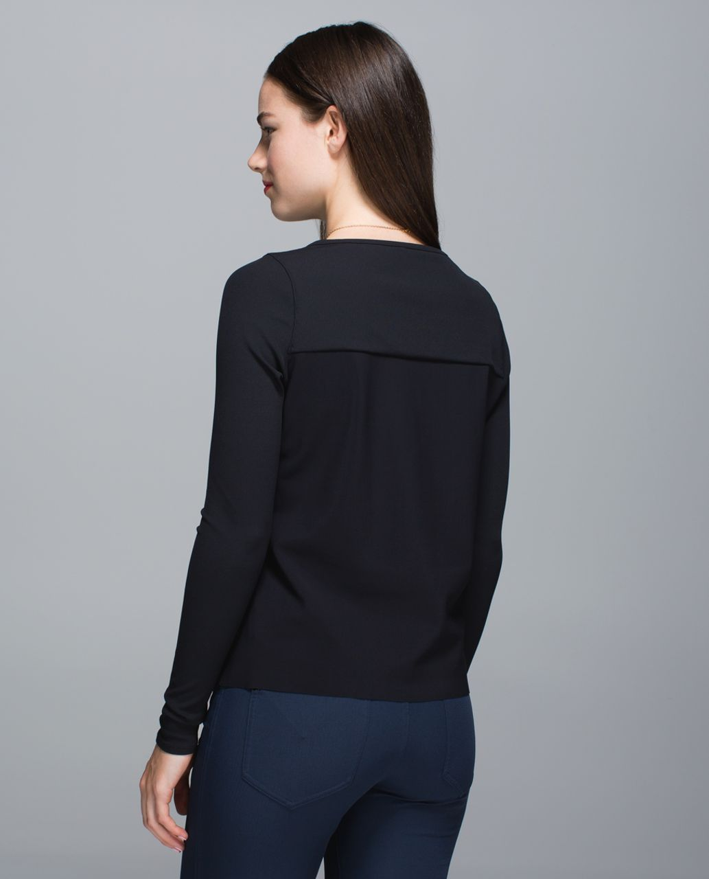 Lululemon Out Of This World Long Sleeve - Black