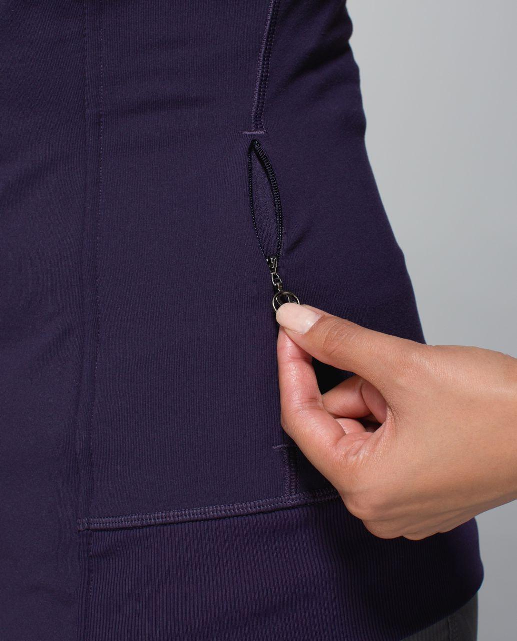 Lululemon Bhakti Yoga Jacket - Black Grape