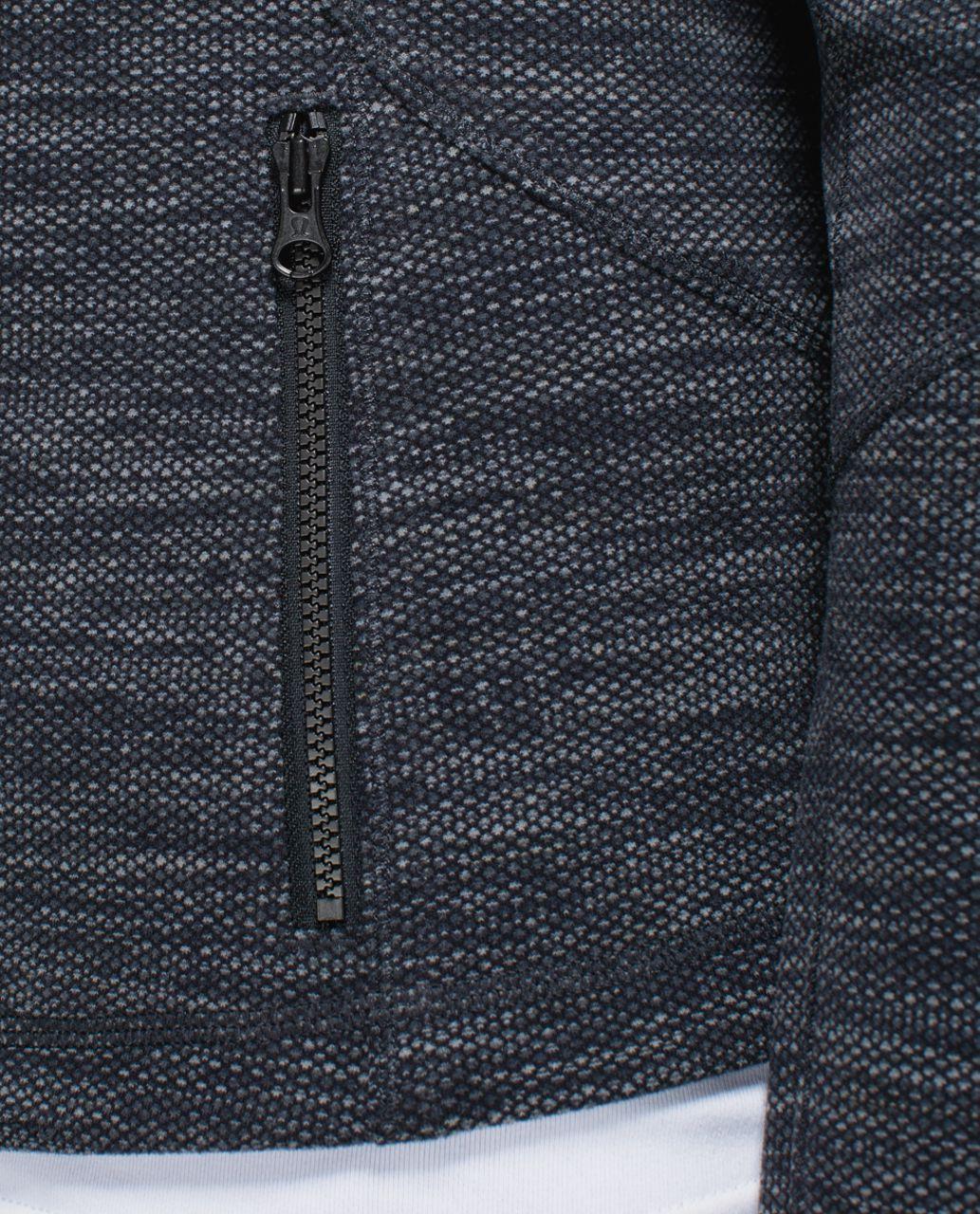 Lululemon Forme Jacket (Cuffins) - Black /  Deep Coal