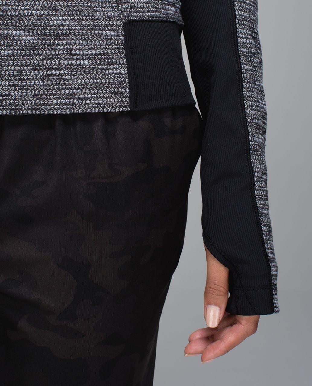 Lululemon Bhakti Yoga Jacket - Coco Pique Black / Black