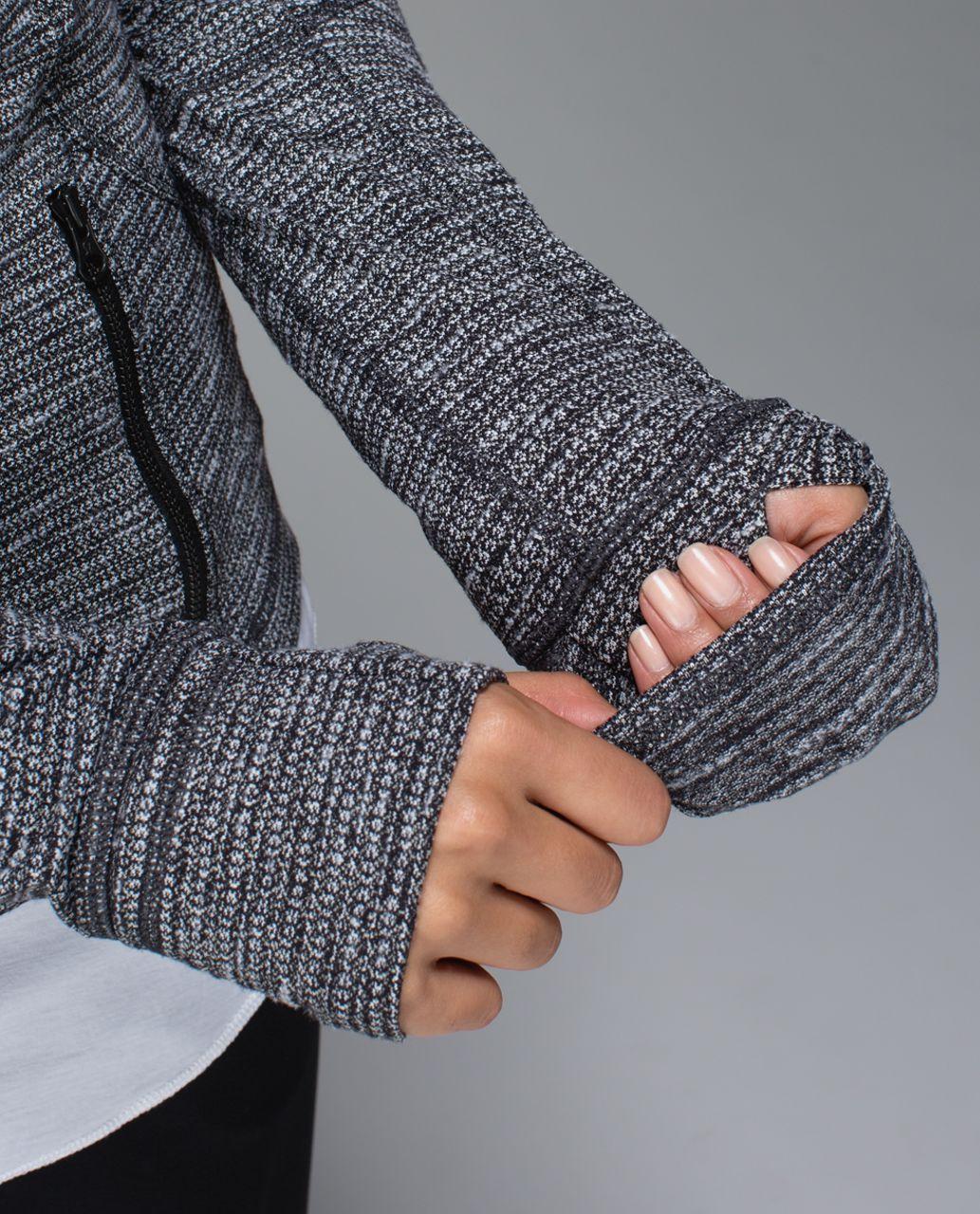 Lululemon Forme Jacket (Cuffins) - Coco Pique Black