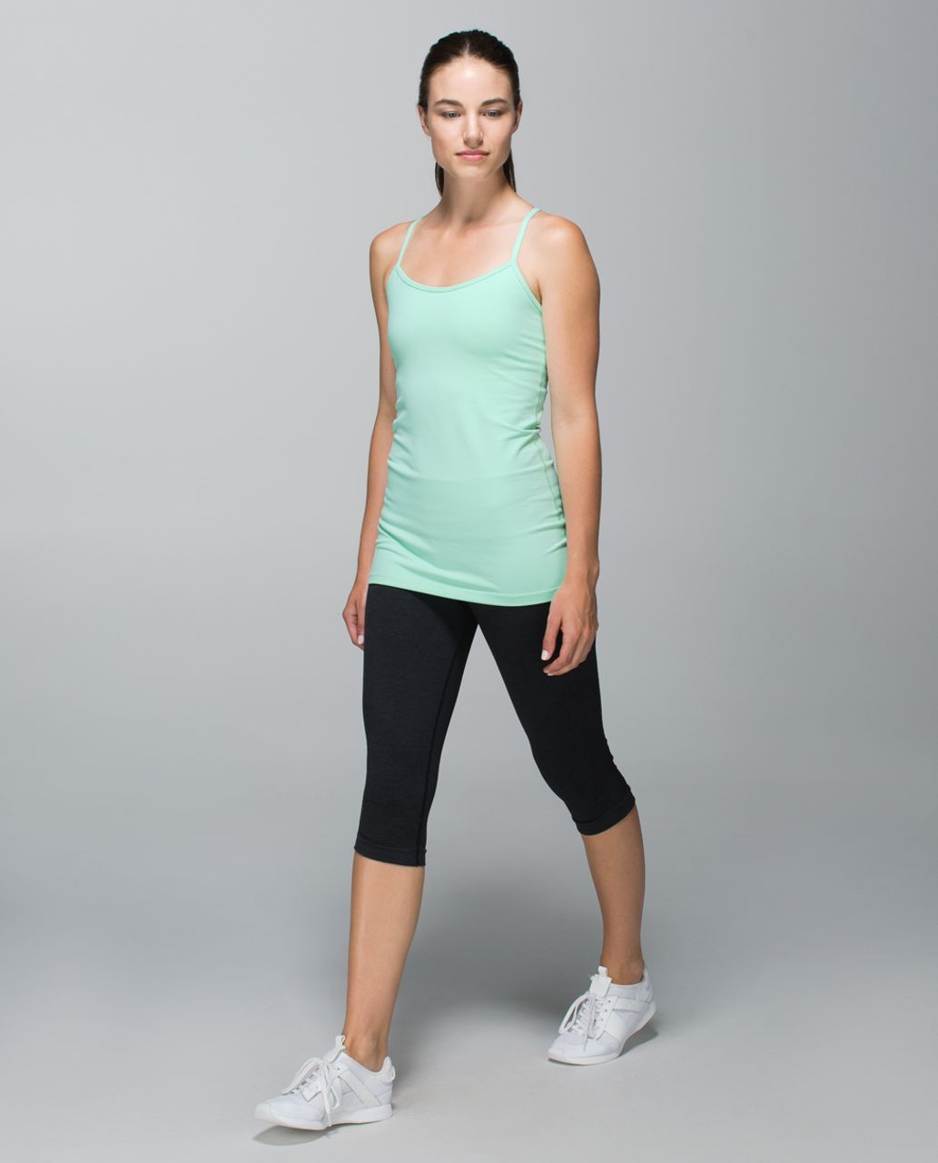 Lululemon Power Y Tank *Luon - Toothpaste