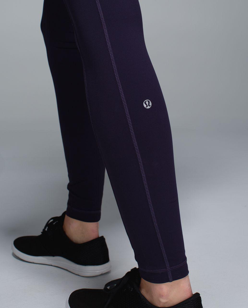 Lululemon Speed Tight ll *Full-On Luxtreme (Brushed) - Black Grape / Wee Stripe Black Grape Heathered Black Grape