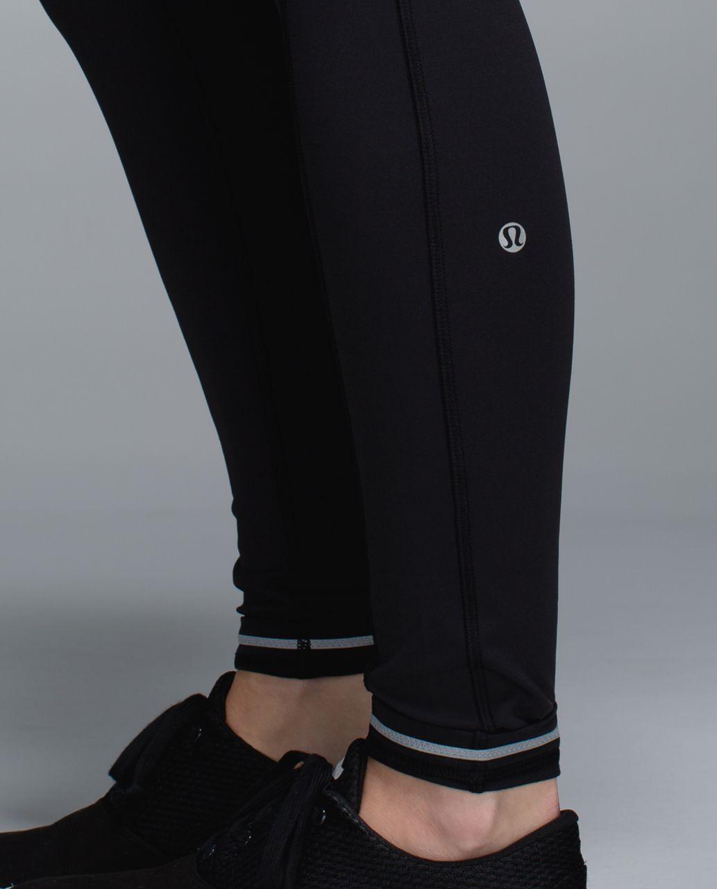 Lululemon Speed Tight ll *Full-On Luxtreme (Brushed) - Black / Fa14 Quilt 26