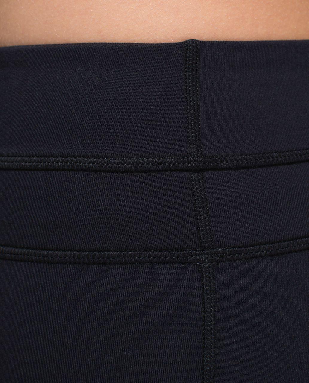 Lululemon Skinny Groove Pant *Brushed - Black