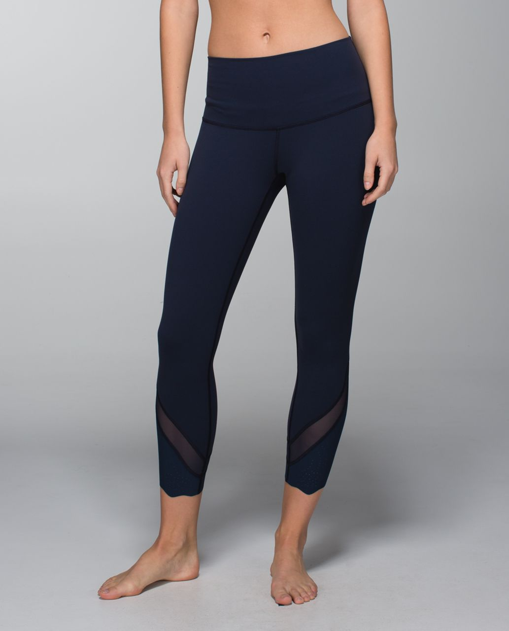 Lululemon Wunder Under Pant *Laser-Cut (Roll Down) - Inkwell