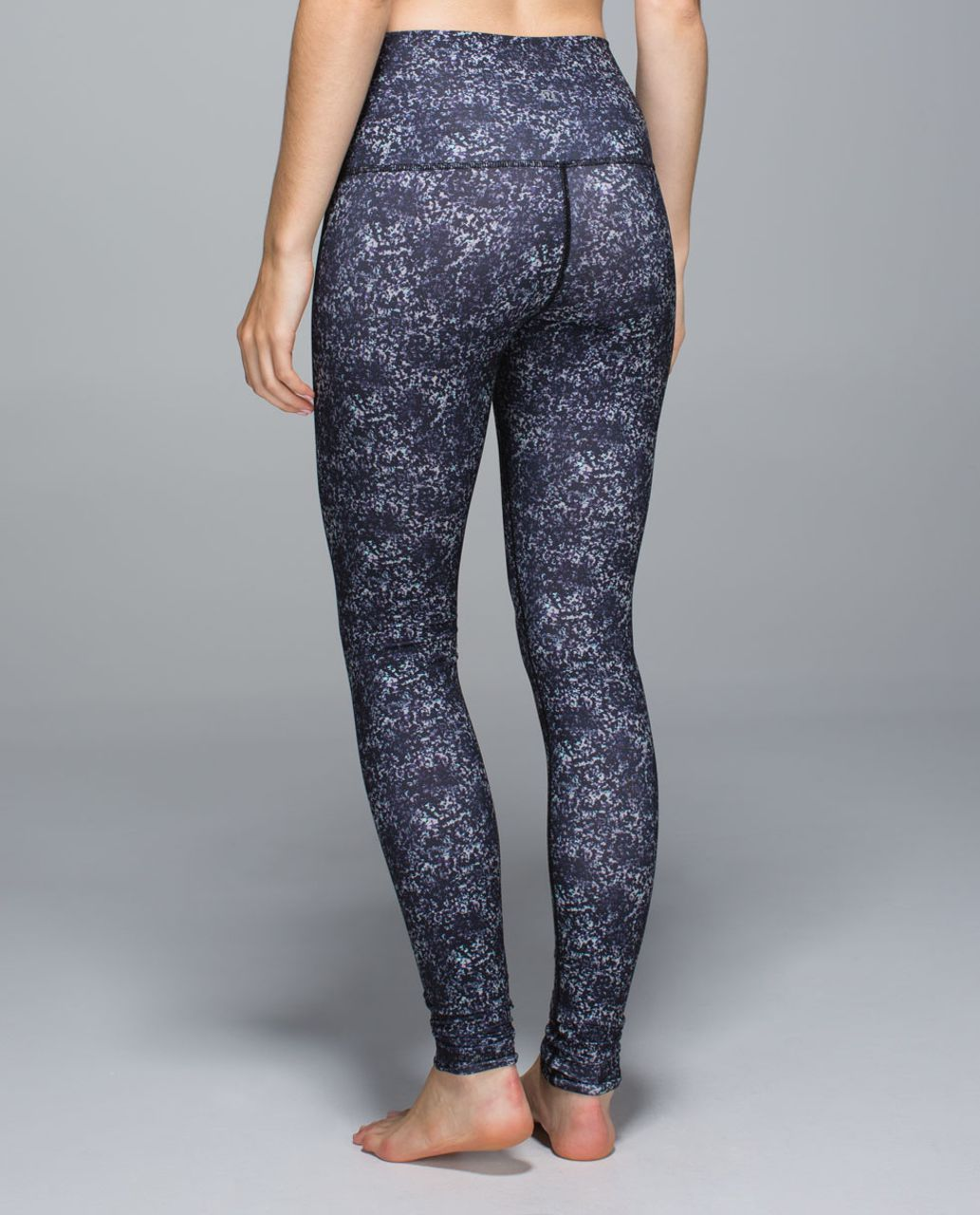 Lululemon Wunder Under Pant *Full-On Luon (Roll Down) - Rocky Road Sand Dune Toothpaste