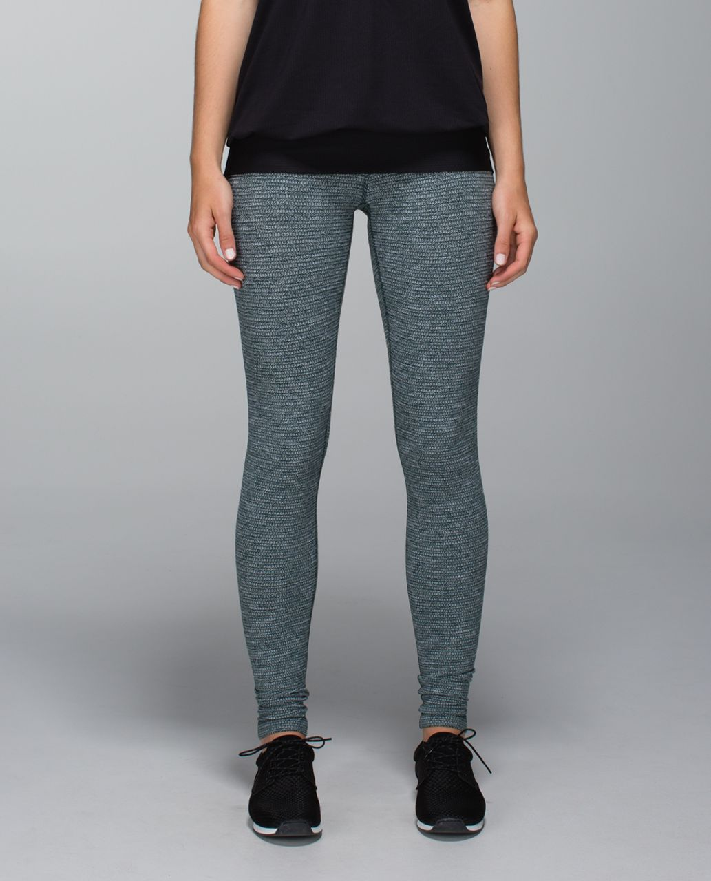 Lululemon Wunder Under Pant (Roll Down) - Coco Pique Fuel Green