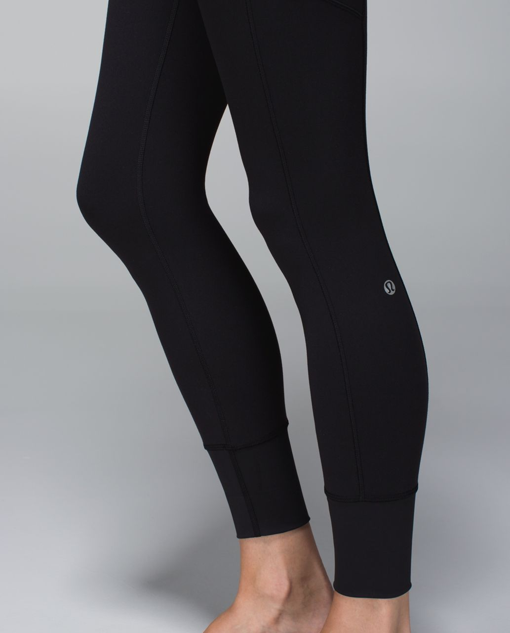 Lululemon En Route Crop *Full-On Luon - Black