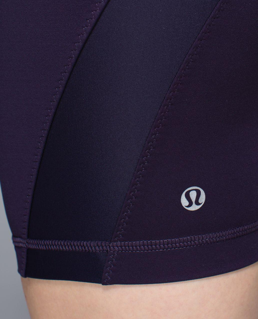 Lululemon Clip-In Short - Black Grape