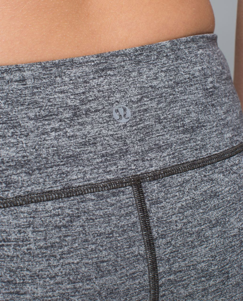 Lululemon Boogie Short - Heathered Deep Coal /  Deep Coal