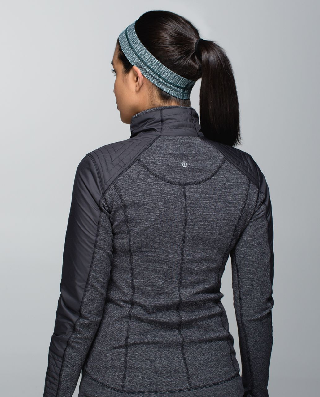 Lululemon Fly Away Tamer Headband - Fuel Green