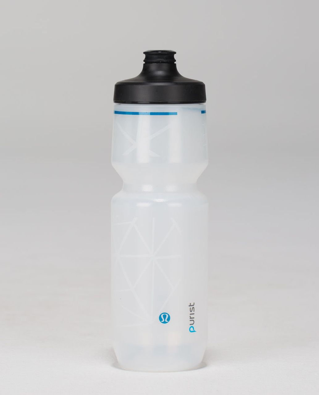 Lululemon Purist Cycling Water Bottle - Harageo Cube Translucent