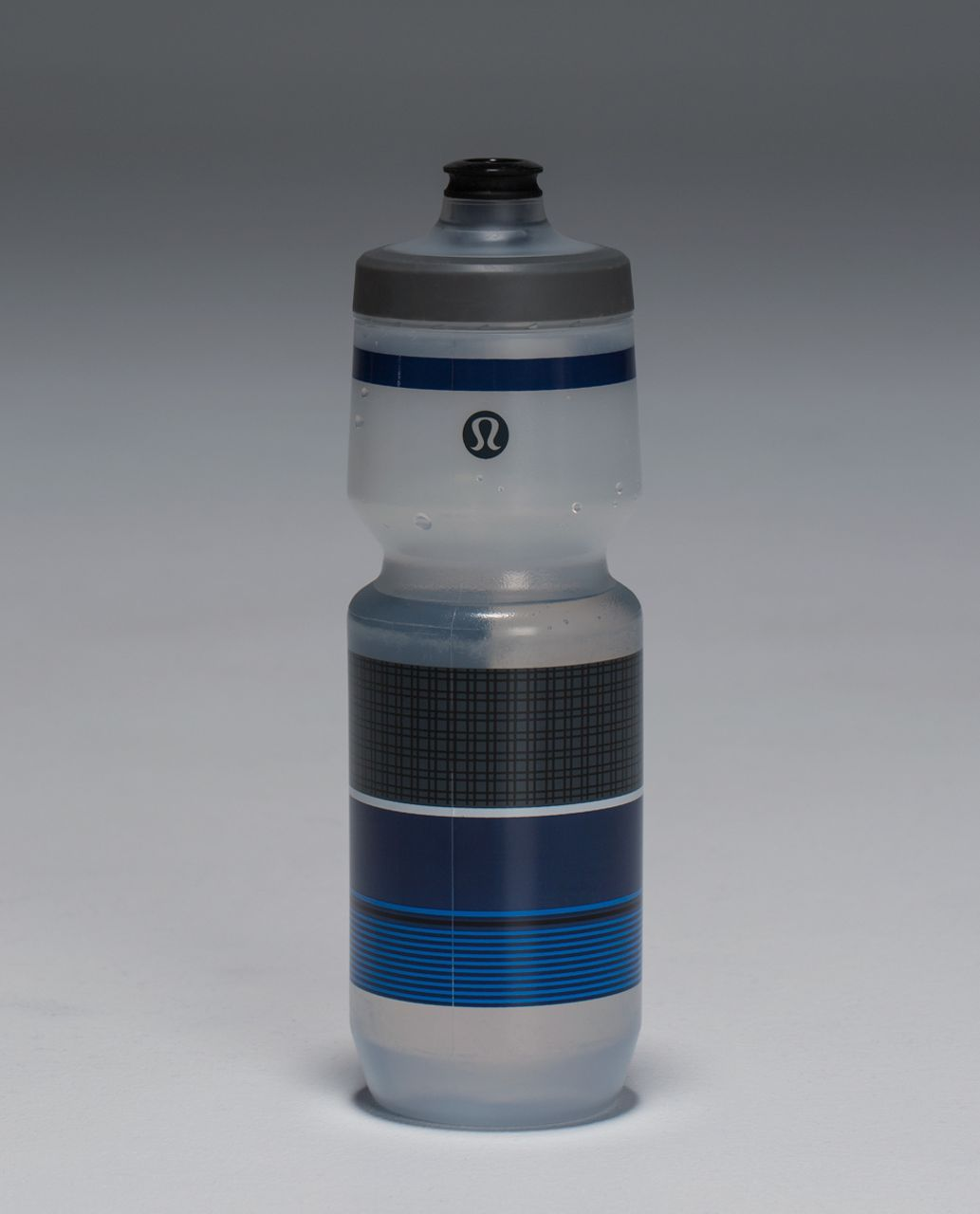 Lululemon Purist Cycling Water Bottle - Plaid Deep Coal