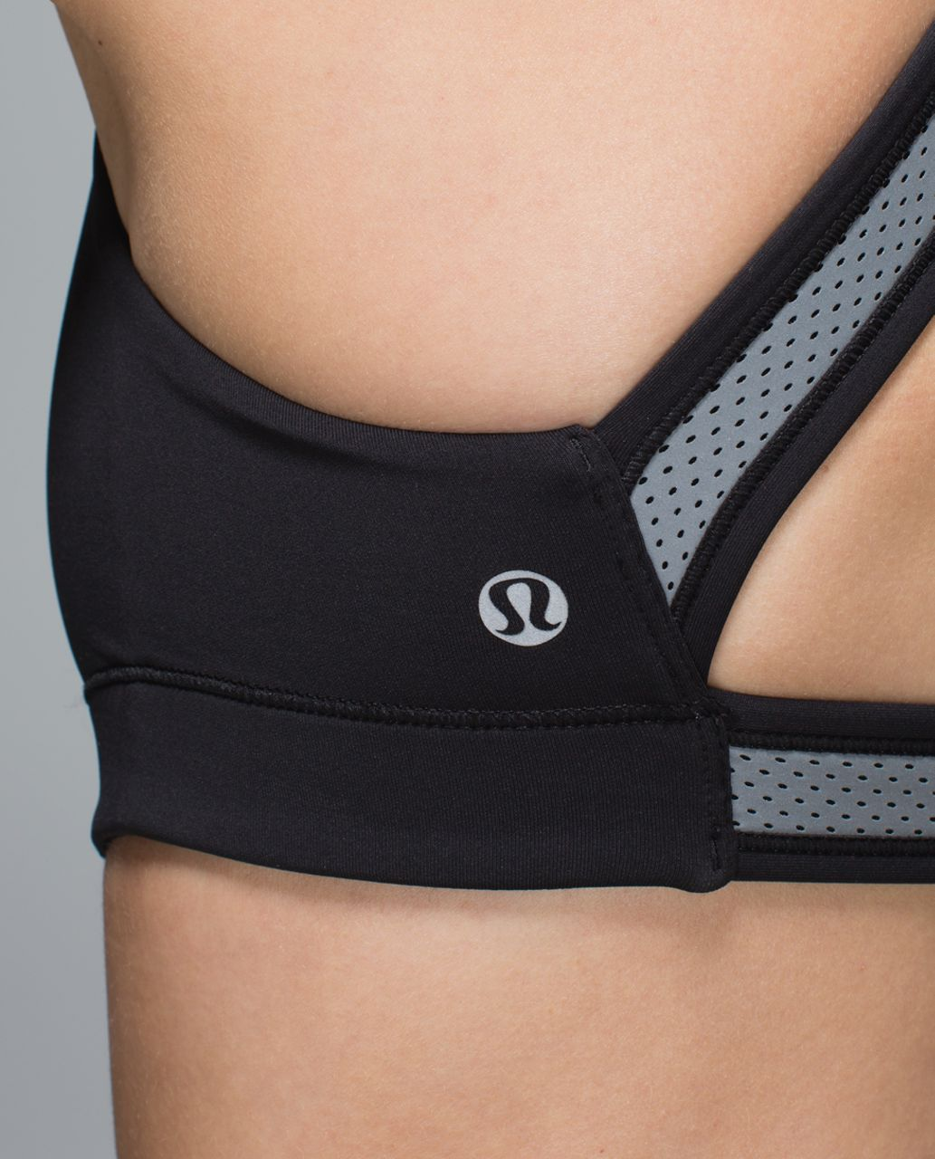 Lululemon In A Flash Bra II *Reflective - Black