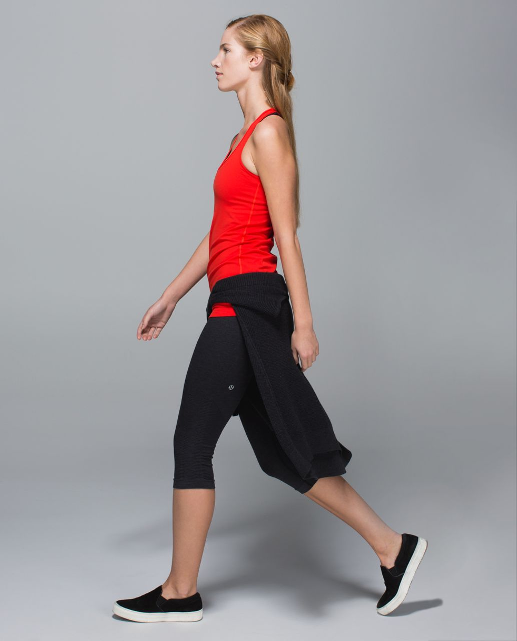 Lululemon Cool Racerback - Flaming Tomato