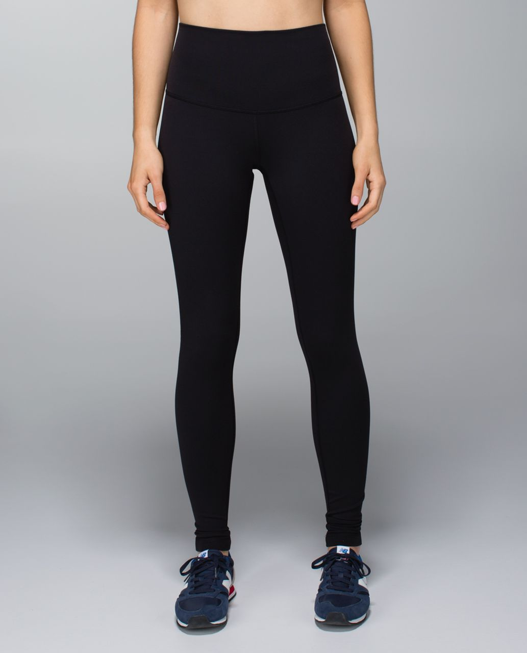 Lululemon Wunder Under Pant *Full-On Luxtreme (Roll Down) - Black