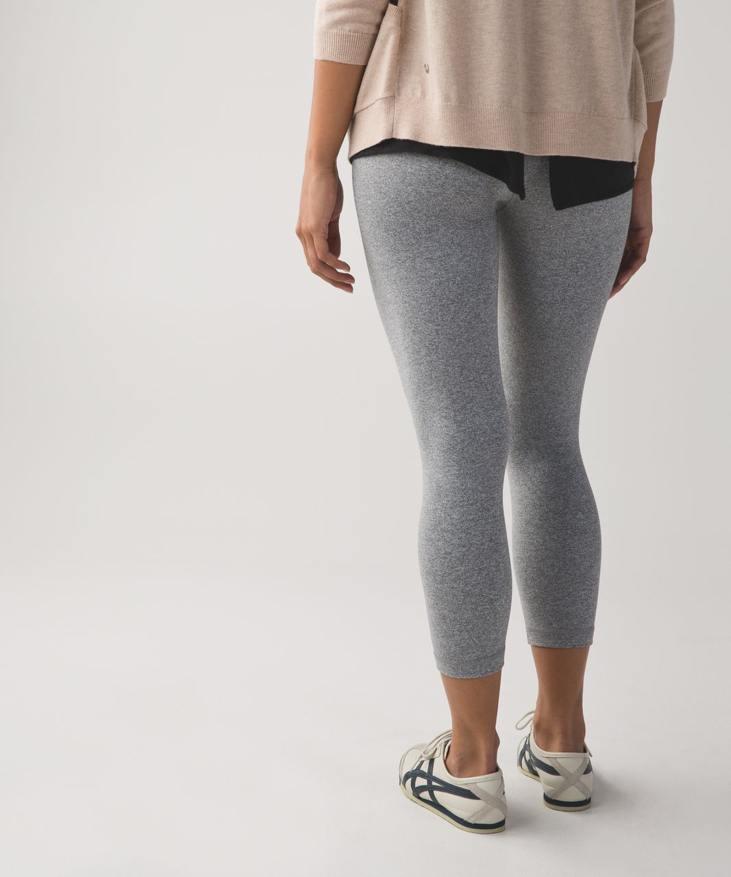 Lululemon Wunder Under Crop II (First Release) - Heathered Slate