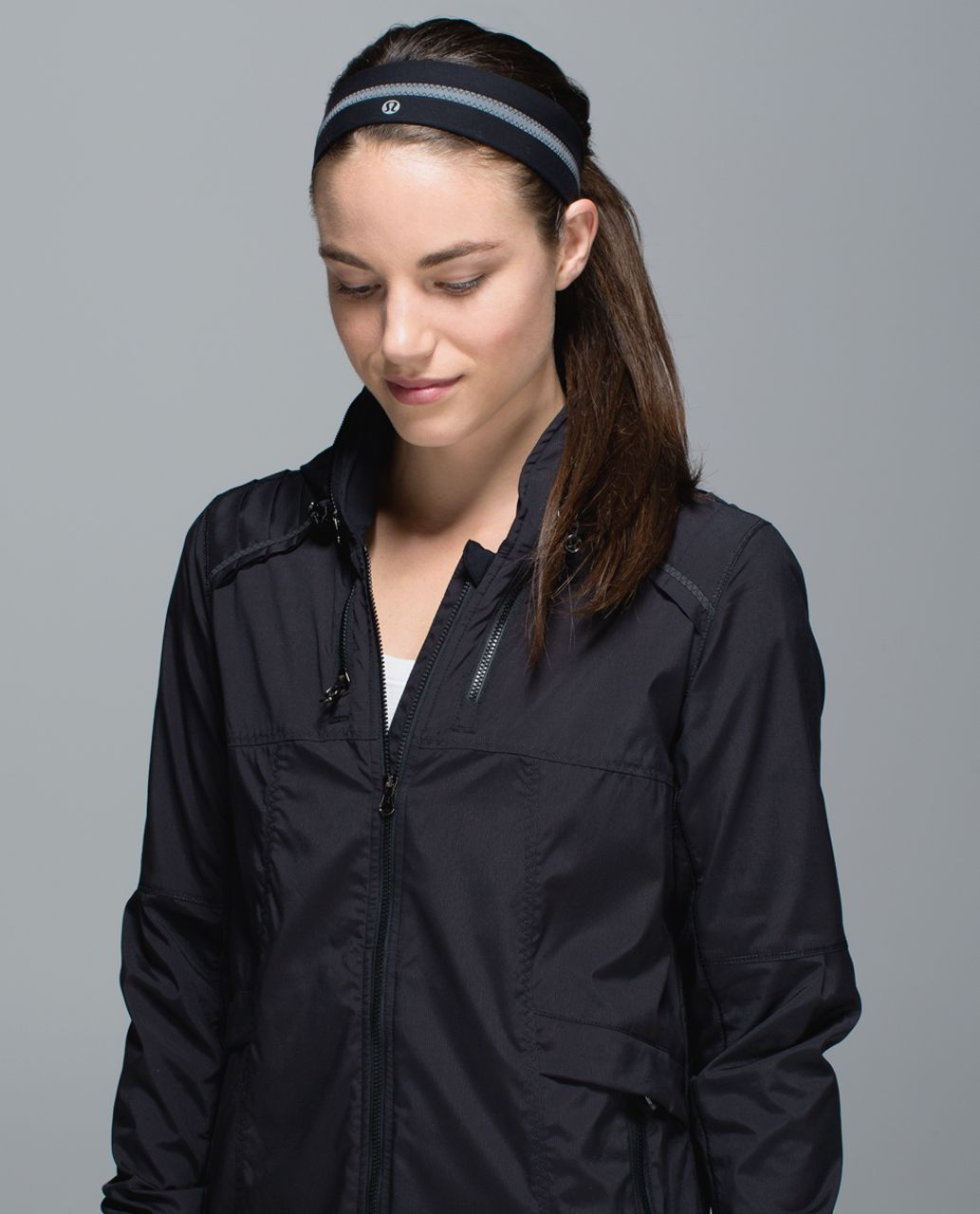 Lululemon Fly Away Tamer Headband *Reflective - Black (First Release)