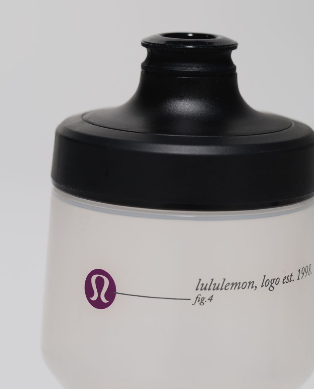 Lululemon Purist Cycling Water Bottle - Mountain Range Black