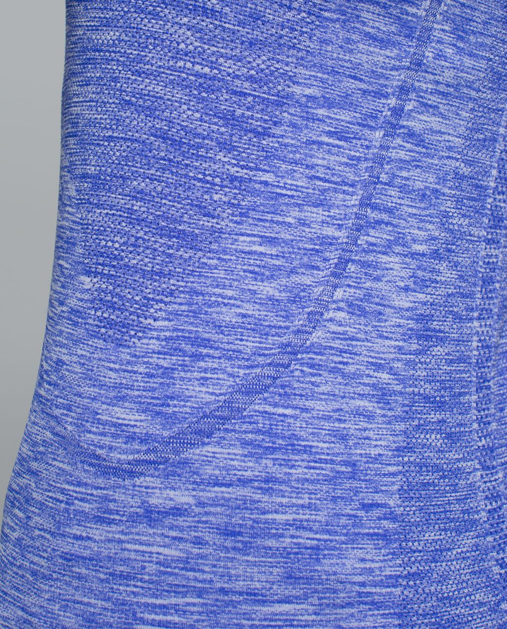 Lululemon Run:  Swiftly Tech Long Sleeve Crew - Space Dye Heathered Pigment Blue