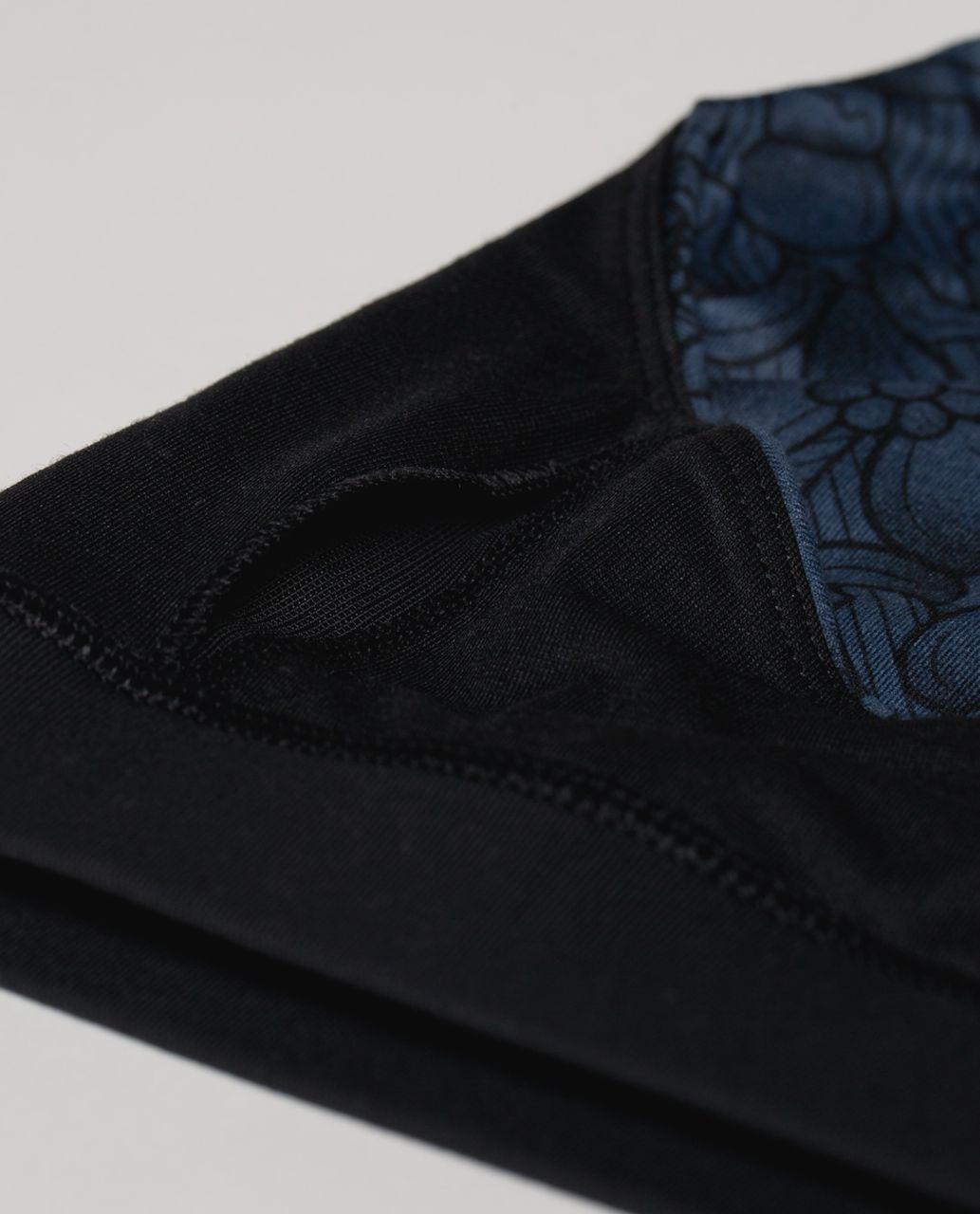 Lululemon 50 Rep Bra - Prisma Inkwell Black / Black
