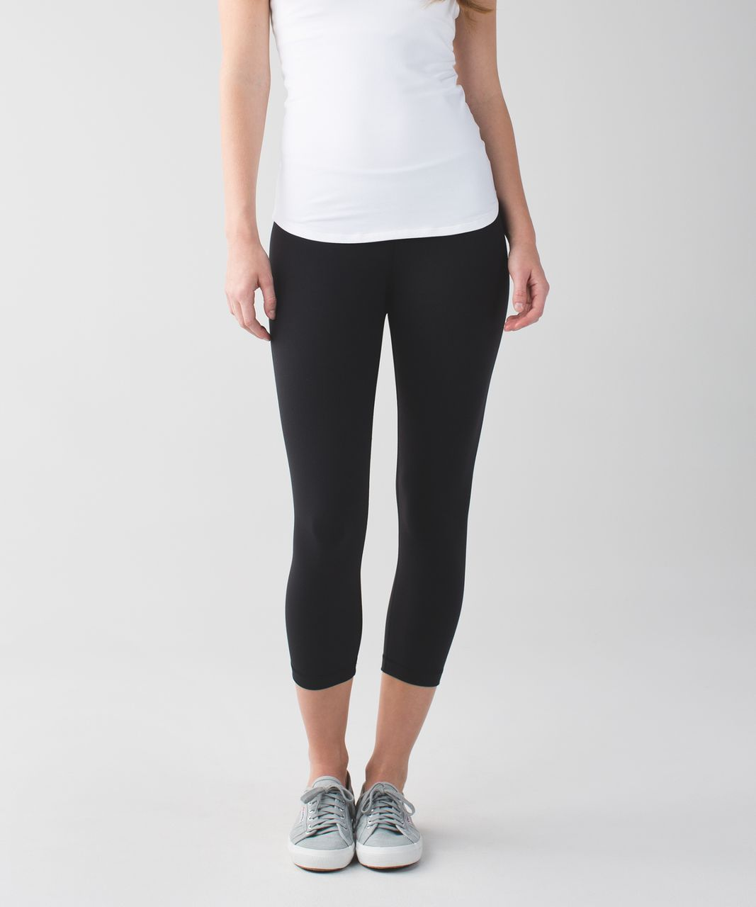 Lululemon Wunder Under Crop II *Full-On Luon (First Release) - Black