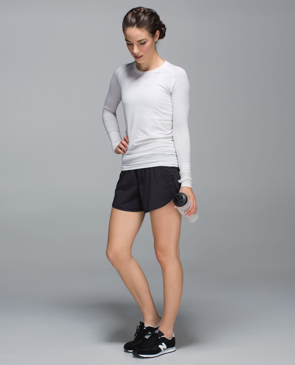 Lululemon Tracker Short II *4-way Stretch - Black
