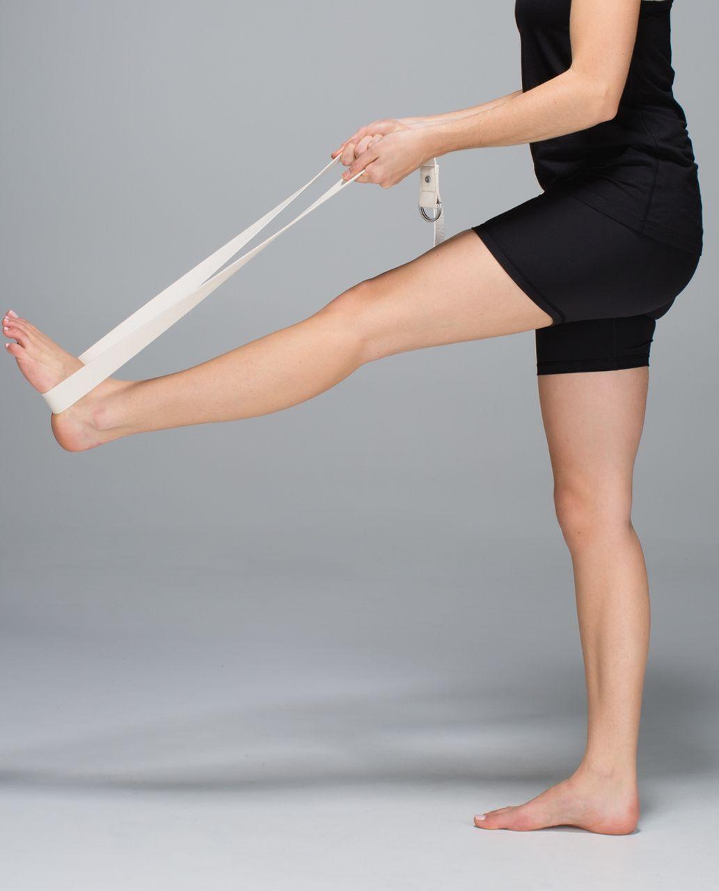 Lululemon No Limits Stretching Strap - Sand Stone