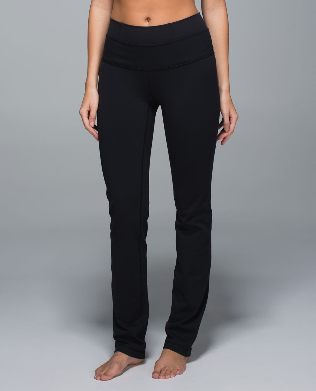 2ad2e8c3c8 Lululemon Straight-Up Pant *Full-On Luon - Black - lulu fanatics