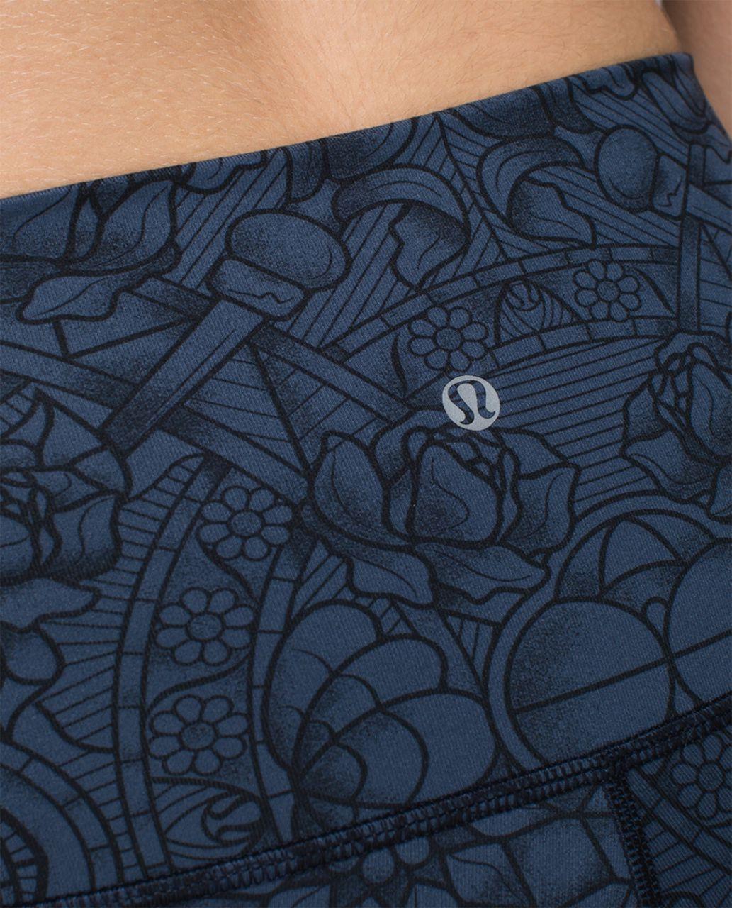 Lululemon Wunder Under Pant *Full-On Luon (Roll Down) - Prisma Inkwell Black