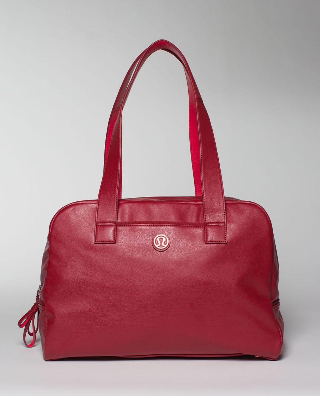 Lululemon Urban Sanctuary Bag - Deepest Cranberry / Boom Juice